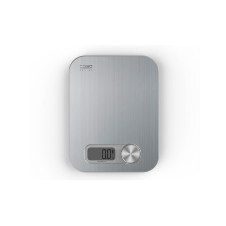 Caso Design kitchen scale Maximum weight (capacity) 5 kg, Graduation 1 g, Display type Digital, Stainless Steel