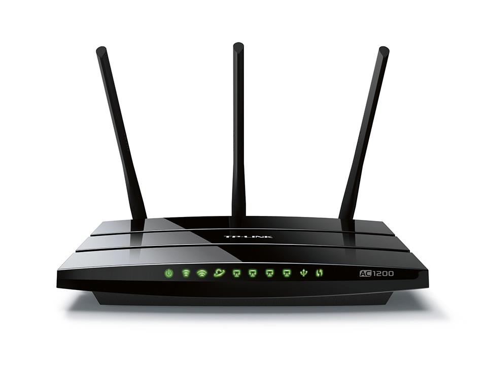Wireless Router|TP-LINK|Router|1200 Mbps|IEEE 802.11a|IEEE 802.11b|IEEE 802.11g|IEEE 802.11n|IEEE 802.11ac|USB 2.0|1 WAN|4x10/100/1000M|Number of antennas 3|ARCHERC1200