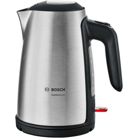 Bosch TWK6A813 Standard kettle, Stainless steel, 2400 W, 1.7 L, 360° rotational base