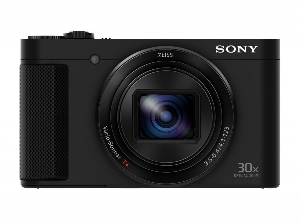 Sony Cyber-shot DSC-HX90 Compact camera, 18.2 MP, Optical zoom 30 x, Digital zoom 120 x, Image stabilizer, ISO 12800, Display diagonal 7.62 cm, Wi-Fi, Video recording, Lithium-Ion (Li-Ion), Black