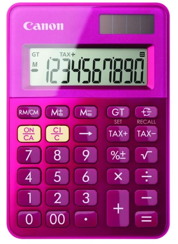 CANON LS-100K Calculator pink