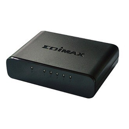 Edimax Switch ES-3305P Unmanaged, Desktop, 10/100 Mbps (RJ-45) ports quantity 5, Power supply type Single
