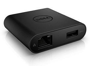 DELL DA200 Juhtmega ühendatud USB 3.2 Gen 1 (3.1 Gen 1) Type-C Must