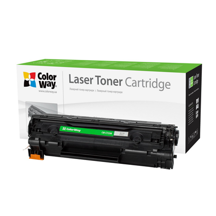 ColorWay Econom toner cartridge for Canon:725, HP CE285A ColorWay Econom Toner Cartridge, Black