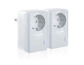 TP-LINK TL-PA4010PKIT Powerline võrguadapter 600 Mbit/s Ethernet LAN Valge 2 tk